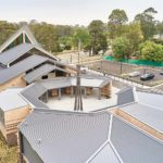 6 different roofing angles on a large church in Kenthurst NSW