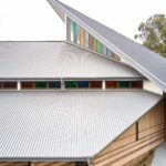 COLORBOND metal roofing on a large church in Kenthurst NSW